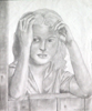 Girl in Graphite by Christine Boyce